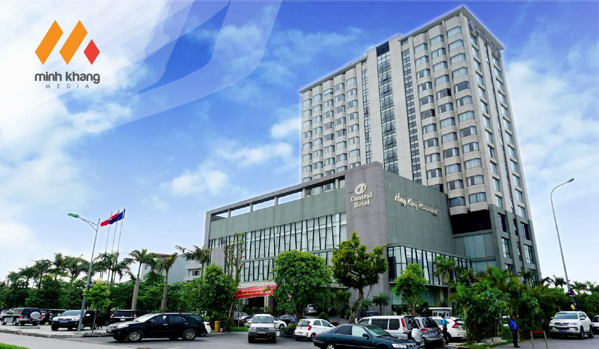 Thiết kế website song ngữ Anh - Việt Central Hotel